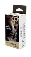 Зажимы на соски Nipple Tweezers с цепочкой - фото 1168286