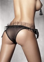 Прозрачные трусики Gwen с бантами - фото 1262971