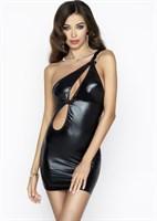 Сексуальное платье Cornelia с мокрым блеском - фото 657411