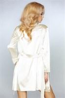 Роскошный ночной комплект Jacqueline: пеньюар, сорочка и трусики-стринги - фото 81867