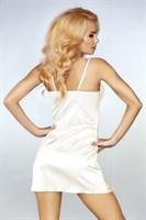 Роскошный ночной комплект Jacqueline: пеньюар, сорочка и трусики-стринги - фото 81869