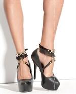 Украшение на ноги под обувь Queen of hearts Arabesque  - фото 1169407