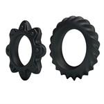 Набор ребристых эрекционных колец Ring Flowering - фото 1169775