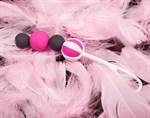 Инновационные вагинальные шарики на магнитах Geisha Balls Magnetiс - фото 546848