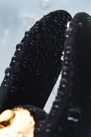 Чёрно-золотой клиторальный вибромассажер WANAME Wave - фото 234618