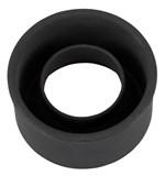 Чёрная манжета для вакуумной помпы Universal Sleeve Silicone - фото 1170736