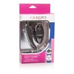 Чёрный вибростимулятор для ношения в трусиках Lock-N-Play Remote Panty Teaser - фото 1191908