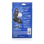 Чёрный вибростимулятор для ношения в трусиках Lock-N-Play Remote Panty Teaser - фото 1191909