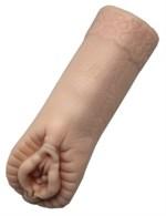 Телесный мастурбатор Personal Girl с бусинками - фото 1171170