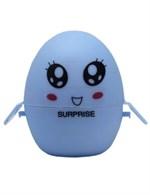 Голубой мастурбатор-яйцо SURPRISE PokeMon - фото 235115