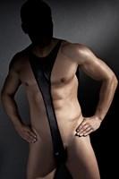 Эротическое боди Derrick из ткани с wet-эффектом - фото 237160
