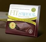 Горький шоколад Fit sweet - 40 гр. - фото 710488