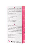 Розово-белое виброяйцо с пультом ДУ - фото 164432