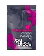 Пробник возбуждющей женской смазки на водной основе JoyDrops Enhancement - 5 мл. - фото 240127