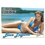 Презервативы Luxe Blue Laguna - 3 шт. - фото 1176686