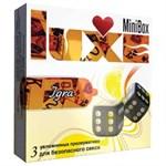 Презервативы Luxe Mini Box  Игра  - 3 шт. - фото 1176687