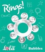 Прозрачное эрекционное кольцо Rings Bubbles - фото 1176894