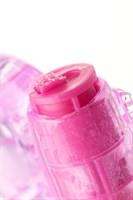 Розовое эрекционное виброкольцо из эластичного геля - фото 1177105