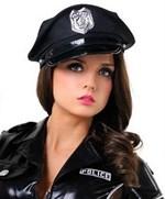 Чёрная фуражка полицейского - фото 241385