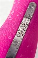 Розовый жезловый вибратор Rockit из силикона - фото 1177327