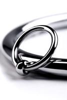 Металлический ошейник с кольцом и ключиком - фото 242660