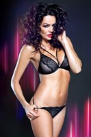 Комплект с сексуальными трусиками и эффектным бюстом Gabrielle - фото 35814
