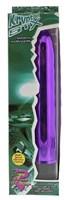 Фиолетовый классический вибратор KRYPTON STIX 7 MASSAGER - 17,8 см. - фото 1180422