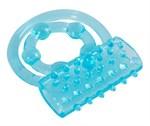 Голубой вибронабор из 8 предметов Blue Appetizer - фото 169684