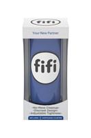 Синий нереалистичный мастурбатор FIFI MALE - фото 1681302