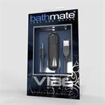 Чёрная перезаряжаемая вибропуля Bathmate Vibrating Bullet Vibe Black - фото 1681510
