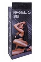 Поножи Dana с металлической цепочкой и регулируемыми застежками - фото 37813
