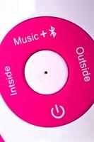 Розовый вибратор Nalone Rhythm с клиторальным стимулятором - 21,6 см. - фото 1181486