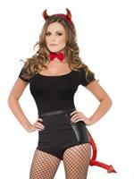 Комплект аксессуаров для костюма дьяволицы - фото 258624