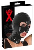 Шлем-маска на голову с отверстиями для рта и глаз - фото 1182360