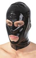 Шлем-маска на голову с отверстиями для рта и глаз - фото 1182359