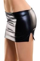 Соблазнительная мини-юбка с разрезами по бокам Carmen - фото 1182969