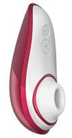 Красный бесконтактный клиторальный стимулятор Womanizer Liberty - фото 338471