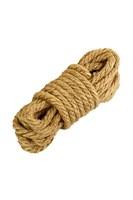 Джутовая веревка для бондажа - 5 м. - фото 1183191