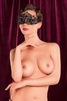 Соблазнительная черная маска Theatre - фото 182751