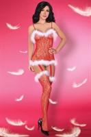 Обольстительный комбинезон в рождественском стиле Catriona Christmas - фото 90979