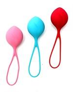 Набор из трёх вагинальных шариков Satisfyer Strengthening Balls - фото 339148