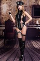Эротичный костюм полицейской Raven - фото 1184823